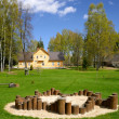 Open air Seto museum, Saatse, Estonia — Stock Photo