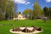 Open air Seto museum, Saatse, Estonia — Stock Photo