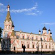 The Cathedral of the Protection of Most Holy Theotokos, Grodno, Belarus — Stock Photo