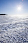 Sol de inverno — Foto Stock