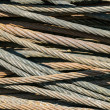 Stock Photo: Wire rope