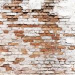 Damaged brick wall — Stock Photo #37442555