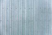 Corrugated siding steel — Foto Stock