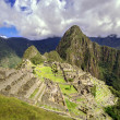 Stock Photo: Inca city Machu Picchu (Peru)