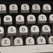 Stock Photo: Antique Typewriter