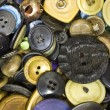 A Pile of Old Buttons — Stock Photo