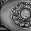 Old Rotary Dial Phone — Foto Stock