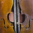 A Pair of Aged Violins — Stock Photo