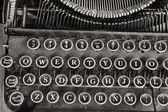античный пишущая машинка — Стоковое фото
