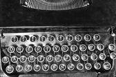 Starožitný psací stroj — Stock fotografie