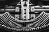 Antica macchina da scrivere — Foto Stock