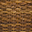 A Closeup of Basket Weave Texture — Stock Photo
