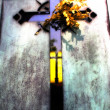 Stock Photo: Cross in Cimetiere du Montparnasse