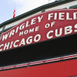 Stock Photo: Wrigley Field Home of Chicago Cubs