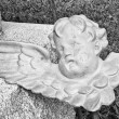 Baby Angel with Broken Wing — Stock Photo