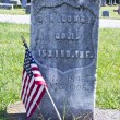 Stock Photo: Infantry Headstone
