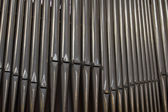 Cathedral Organ Pipes — Stock Photo
