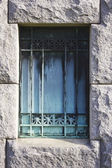Rusted Cemetery Crypt Gate — Stock Photo