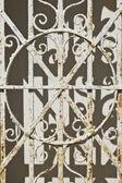 Rusted Mausoleum Gate — Foto Stock