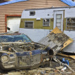 Stock Photo: Tornado Storm Damage IV