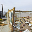 Stock Photo: Tornado Storm Damage X