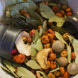 Bowl of Holiday Potpourri  — Stock Photo