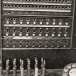 Stock Photo: Vintage Bell System Telephone Switchboard