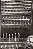 Vintage Bell System Telephone Switchboard — Stock Photo