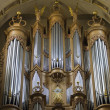 Ile Saint Louis Cathedral Organ in Paris — Stock Photo