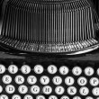 Stock Photo: Antique Typewriter X