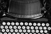 Antique Typewriter X — Stock Photo