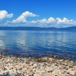 Sunny day on the lake Baikal — Stock Photo