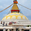 Nepal. Kathmandu. Stupa Boddnadh — Stock Photo