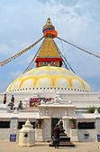 Nepal. Kathmandu. Stupa Boddnadh — Stock Photo