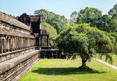 The temple of Angkor Wat, Siem Reap — Stock Photo
