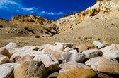 Khyunglung caves in the Garuda Valley, Tibet Autonomous region of China. — Stock Photo