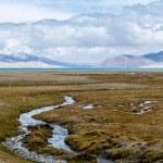 Himalaya mountain landscape. The Tibetan Plateau — Stock Photo #51768989
