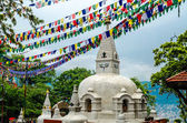 Swayambhunath stupa in Kathmandu — Stock Photo