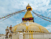 Boudhanath Stupa in Kathmandu. Nepal — Stock Photo