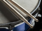 Drumsticks snare drum — Stock Photo