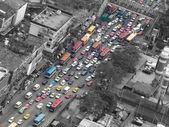Engarrafamento em bangkok — Foto Stock