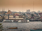 Hazy Bangkok — Stock Photo