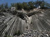 Folded rock — Stock Photo