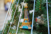 Eifel tower on a tree — Stock Photo