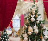 Prachtige kerstboom — Stockfoto