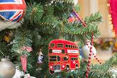 British style christmas tree — Stock Photo