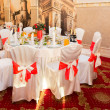 Stock Photo: Banquet hall