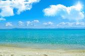Morze i piasek — Zdjęcie stockowe
