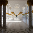 Sheikh Zayed Mosque in Abu Dhabi — Stock Photo #39711095