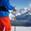 Skiing — Stock Photo